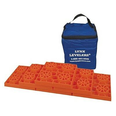 Rv Accessories Leveling Blocks Pads Levelers Ramp Stabilizing Trailer 10 Pack