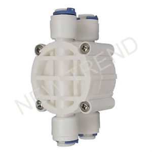 4 Way Reverse Osmosis RO System Water Filter Auto Shut Off Valve