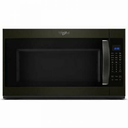 WHIRLPOOL WMH53521HV 2.1-cu ft Over-the-Range Microwave Blac