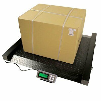 2000 Lb X 0.5 Lb Lds Drum Scale 52w X45h Heavy Duty With Back Lit Lcd