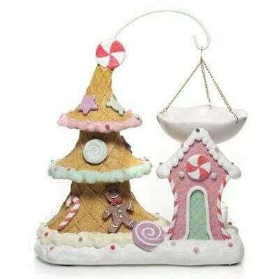 Yankee Candle SUGAR PLUM VILLAGE Christmas Hanging TART BURNER WARMER New