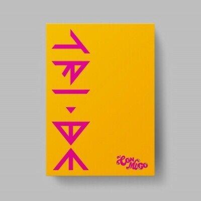 TRI.BE - [CONMIGO] 2nd Single Album CD+Photobook+Bookmark+Photocard+Etc K-POP