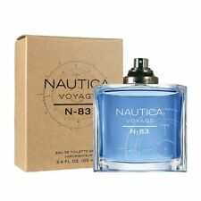 Nautica Voyage N-83 Cologne by Nautica, 3.4 oz EDT Spray for Men NEW TESTER