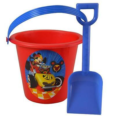 Party Favors Disney Mickey Mouse Roadster Sand Bucket and Shovel Beach Toys - Mickey Mouse Party Buckets
