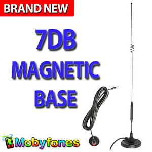7dB Magnetic Base Mobile Phone Antenna Suit Caravans Hosue Car Truck | 4G Next G