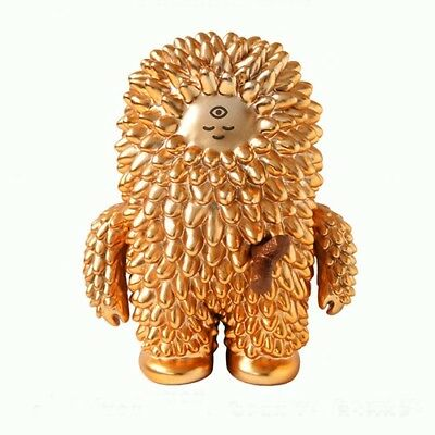 """GOLDEN TREESON Bubi Au Yeung & Box Numbered & Signed - 5"""" tall Vinyl Figure"""