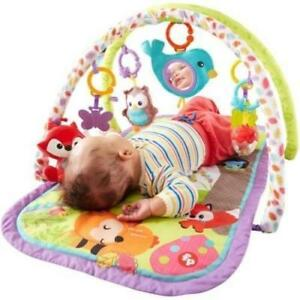 NEW Fisher-Price 3-in-1 Musical Activity Gym - Double Arches - Machine Washable Pad - Develop