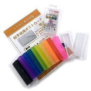 Art-Wave-original-Oyumaru-12-colors-clear-6-pieces-set-japan