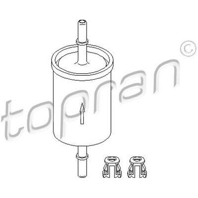 TOPRAN Original Kraftstofffilter - 201 622 - Opel Astra,Corsa,Zafira