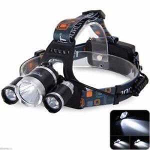 NEW 13000 ULTRA BRIGHT 13000 LUMEN HEADLAMP XM-L T6 RECHARGEABLE HEDLMP AS LOW AS $ 24.50