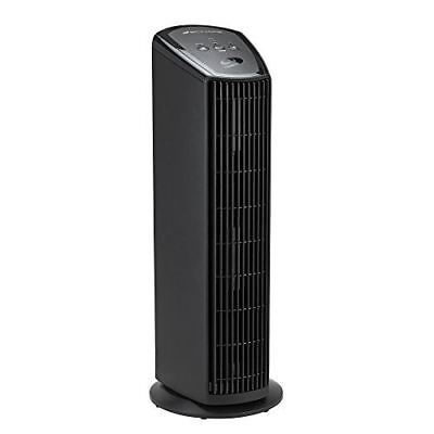 Bionaire 4-Speed UV Power HEPA-Type Tower Air Purfier with Permanent Filter, Bla