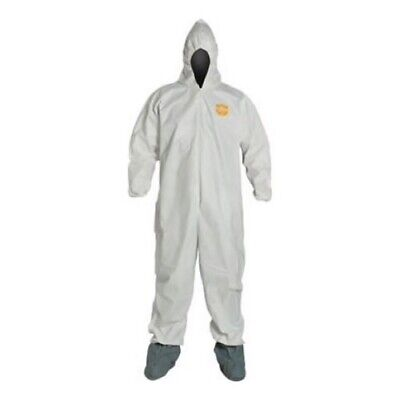 Dupont Kappler Pro/Shield 1 Coveralls Quantity 7 YSE34 Size Medium (Dupont Proshield 1 Coveralls)