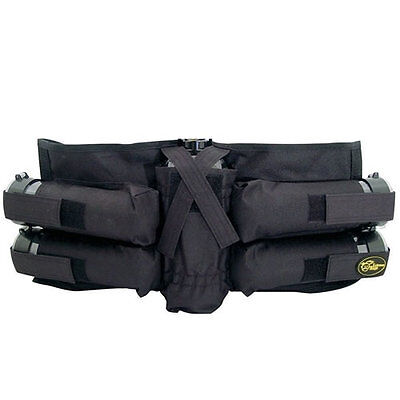 Extreme Rage 4+1 Black Pack/Harness W/Tubes - Paintball