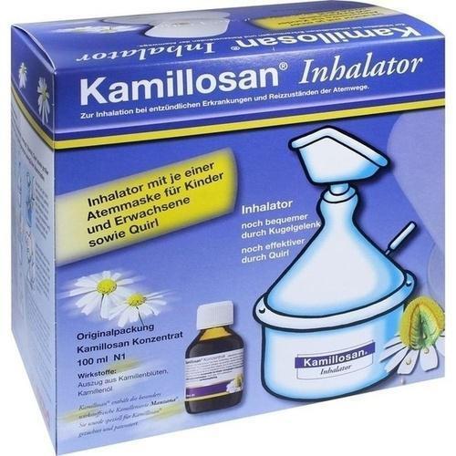 KAMILLOSAN Konzentrat + Inhalator 100ml PZN 2395563