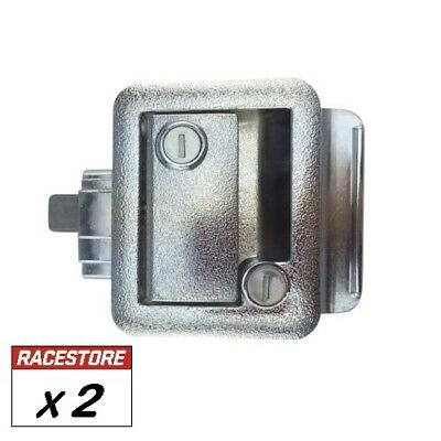 TRAILER DOOR LOCK (2 Pack) - Motorhome Camper Trailer Caravan Race Transporter