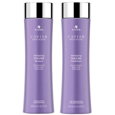 Alterna Caviar Volume Shampoo & Conditioner Duo Gift Set BRAND NEW