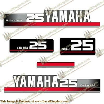 Yamaha 1995 25hp Decal Kit (Silver) for sale  Shipping to India