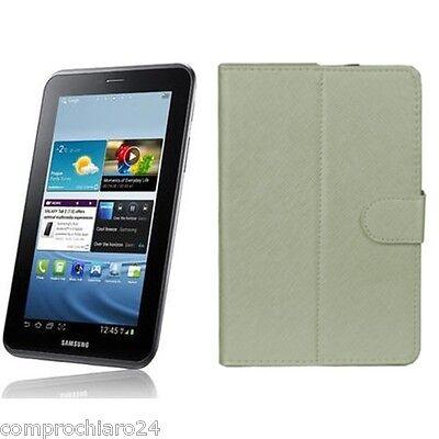 Funda Blanca Plegable Ecopiel Tab - Tablet 7