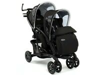 Double pram- Graco Quattro tour sports luxe