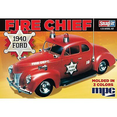 MPC 815 40 Ford Fire Chief 1:25  New