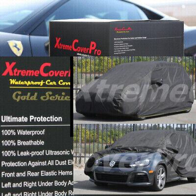 1999 2000 2001 2002 2003 Volkswagen GTI WATERPROOF CAR COVER W/MIRROR POCKET BLK
