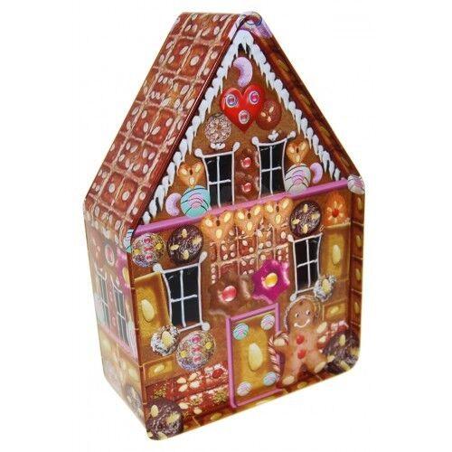 Lebkuchenhaus, Plätzchendose, Geschenkverpackung, Deko Weihnachten, X-Mas