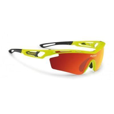 Sonnenbrille RUDY PROJECT TRALYX SX Yellow Fluo Orange SP394076D0000 # NEU & OVP