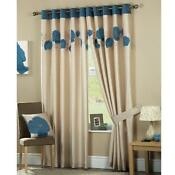 Teal Curtains 90 x 90
