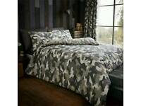 Incognito camouflage duvet set