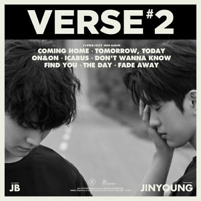 JJ PROJECT [VERSE 2] 2nd Album RANDOM CD+Foto Buch+3p Karte+Lyrics K-POP SEALED
