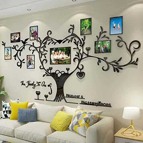 DecorSmart Love Family Tree Picture Frame Collage Removable