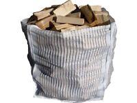 20 Vented Firewood 90x90x90 LOG BULK BAGS Sacks Ton VENTILATED WOVEN Dumpy Tonne