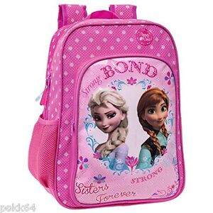 nouveau produit e7129 138f2 La Reine des neiges sac à dos Elsa et Anna Bond L cartable frozen 40 cm  263293- | eBay