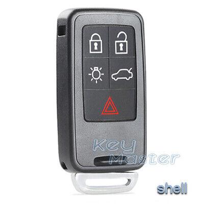 Keyless Entry Remote Key Shell Case for Volvo S80 S60 V60 XC6 V70 -