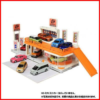 Tomica Town SET Build City AUTOBACS CANTER SHOWROOM TOMY 2018 NEW