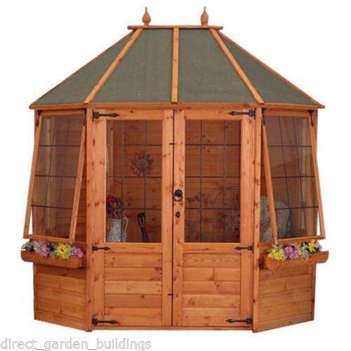 8x6 summerhouse ebay for Garden shed 8x6