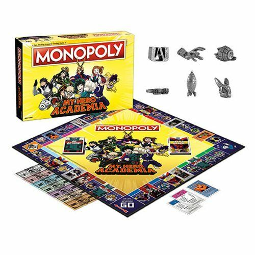 USAopoly MONOPOLY® Call Of Duty, IT, Guardians of The Galaxy, Warhammer  ... MyHeroAcademia