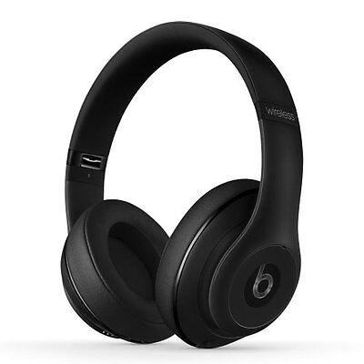Beats By Dre - Beats by Dr Dre Studio 2.0 Wireless Headphones headband Matte Black
