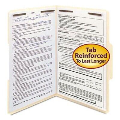 Smead Folder 2 Fasteners 13 Cut Assorted Legal Manila 50box Smd19537