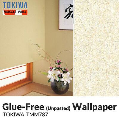 Unpasted Anti Fungal (Mold) Vinyl Wallpaper (Muscle/TMM787)  Pattern sheet/roll