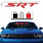 SRT Left Bumper Stickers