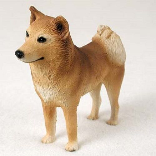 FINNISH SPITZ Dog HAND PAINTED FIGURINE Resin Statue COLLECTIBLE puppy NEW