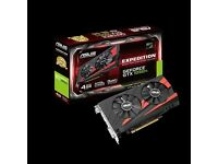 GeForce GTX 1050Ti Expedition 4GB DDR5 Mint Condition