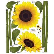 Sunflower Wall Decals