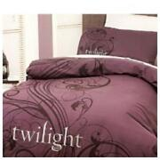 Purple Double Bed Quilt Cover