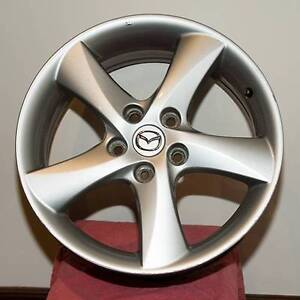 "17"" alloy rims for 2004 Mazda 6 Hatchback Fulham Gardens Charles Sturt Area Preview"