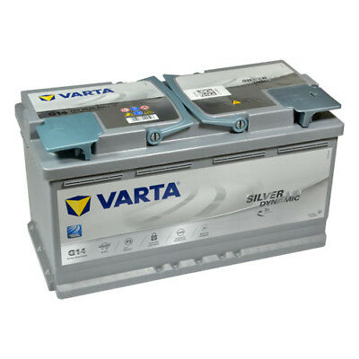 Versorgung Caddy (VARTA Silver Dynamic Start-Stop Plus Autobatterie G14 12V 95Ah AGM 595901085B512)