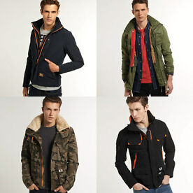 Superdry men's jackets
