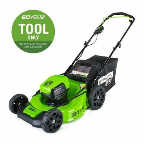 Lawn Mower Brushless Push Cordless Electric Mulching Adjusta