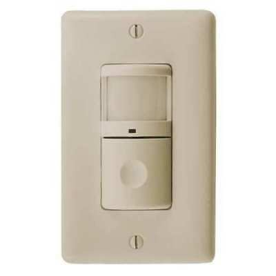Automatic Room Vacancy Motion Sensor Switch 1200 Sq Ft Ivory Hubbell Ws1001i